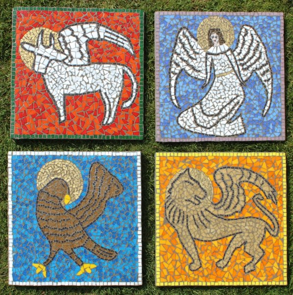 Woodlands Methodist Church, Harrogate Evangelical mosaics
