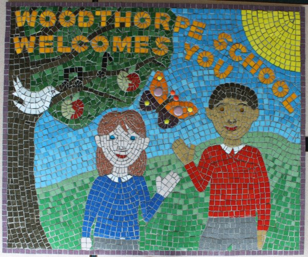 ENTRANCE SCHOOL MOSAIC