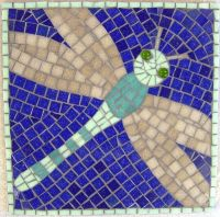 Dragonfly school mosaic