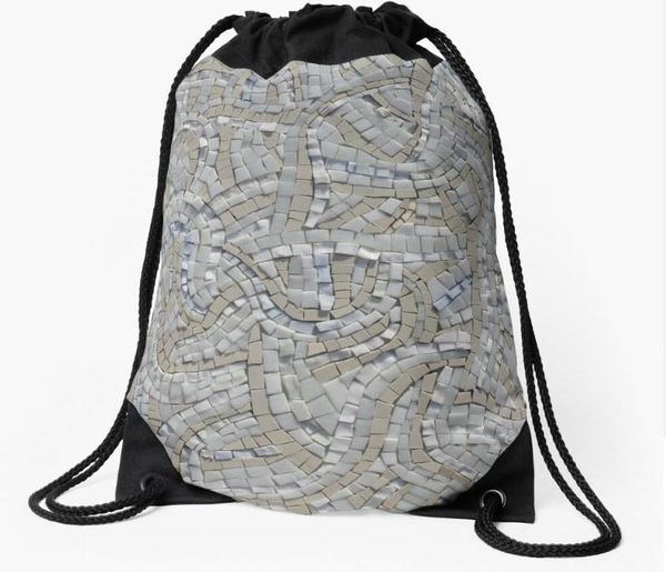 Drawstring bags - mosaic