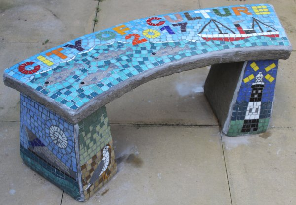Bude Park Primary School City of Culture mosaic commission