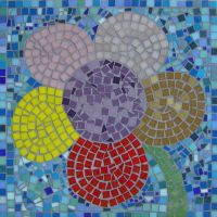 Flower school mosaic
