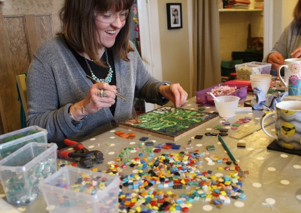 Mosaic courses in Yorkshire