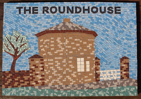 Barnsley Metropolitan Borough Council mosaic commission - The Roundhouse