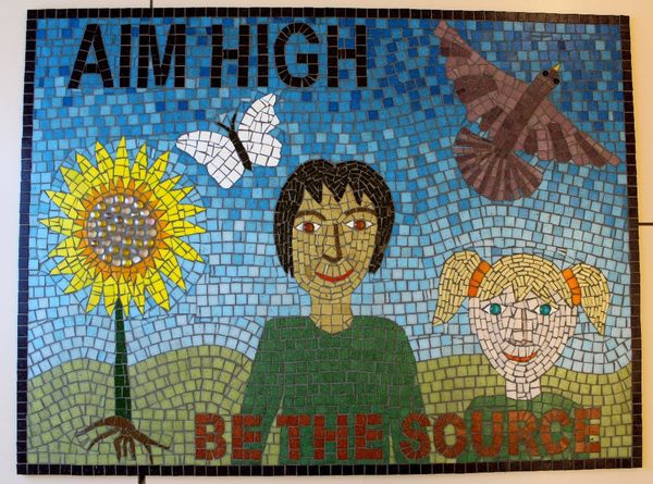 School mosaic commission