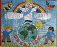 PRAYER GARDEN MOSAIC