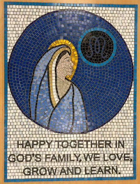 St Mary's school mosaic