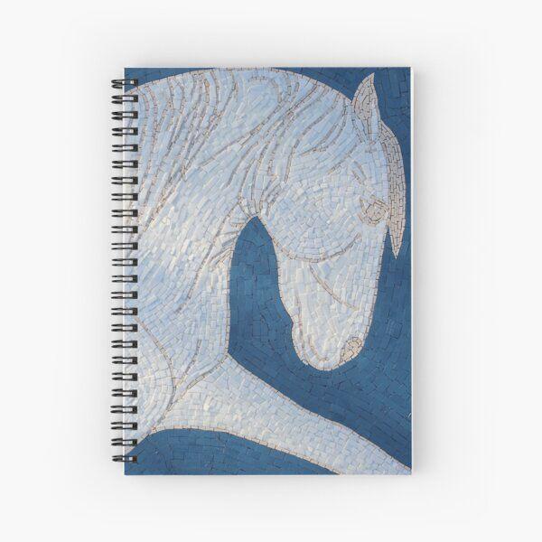 Spiral bound notepads - mosaic