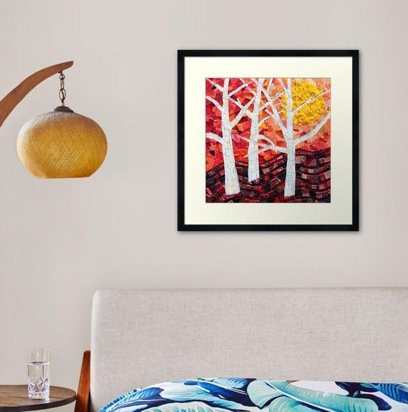 Framed prints - mosaic