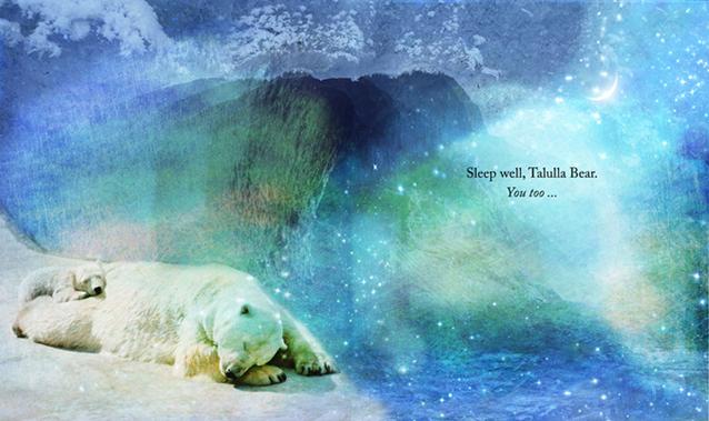 Talulla Bear's Bedtime Book p30-31