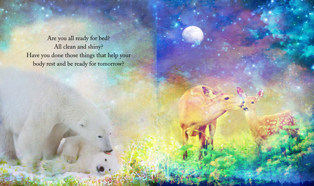 Talulla Bear's Bedtime Book p6-7/Cico Books