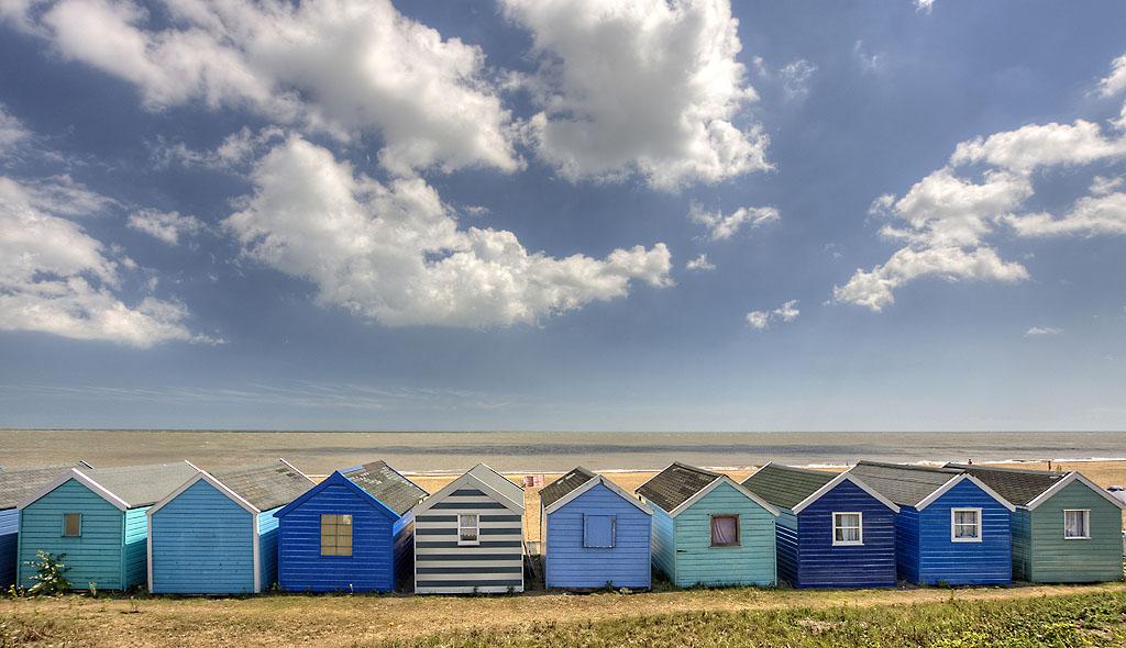 Beach Huts Southwold