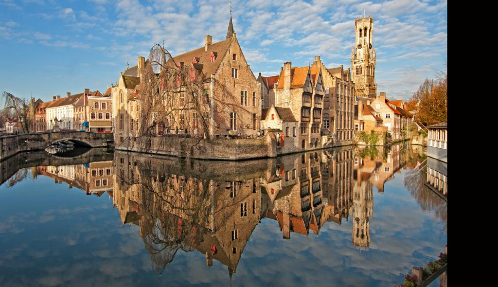 Bruges From Rozenhoedkaai