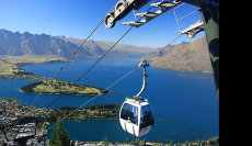 Cable Car Queenstown New Zealand