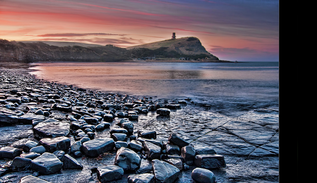 Clavell Tower Kimmeridge Bay Dorset at Dawn