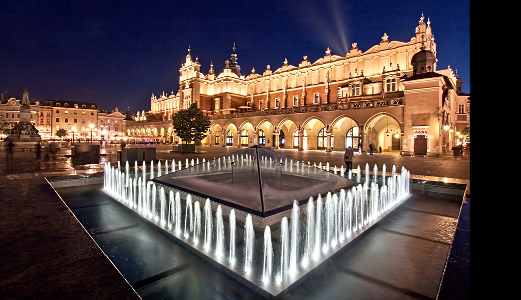 Cracow Square Poland