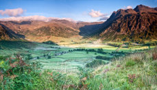 Great Langdale Valley from Side Pike