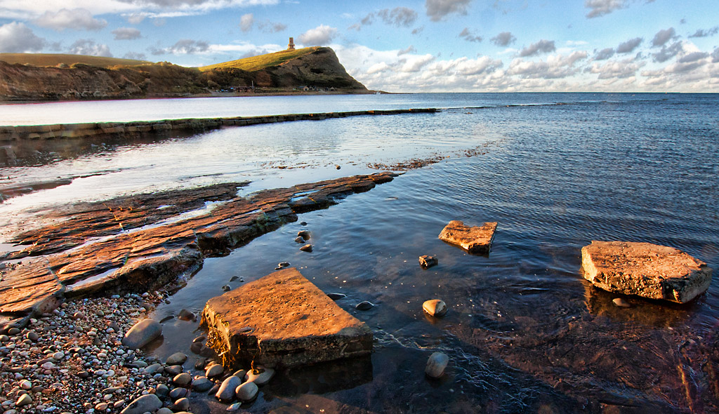 Kimmeridge Bay Early Morning