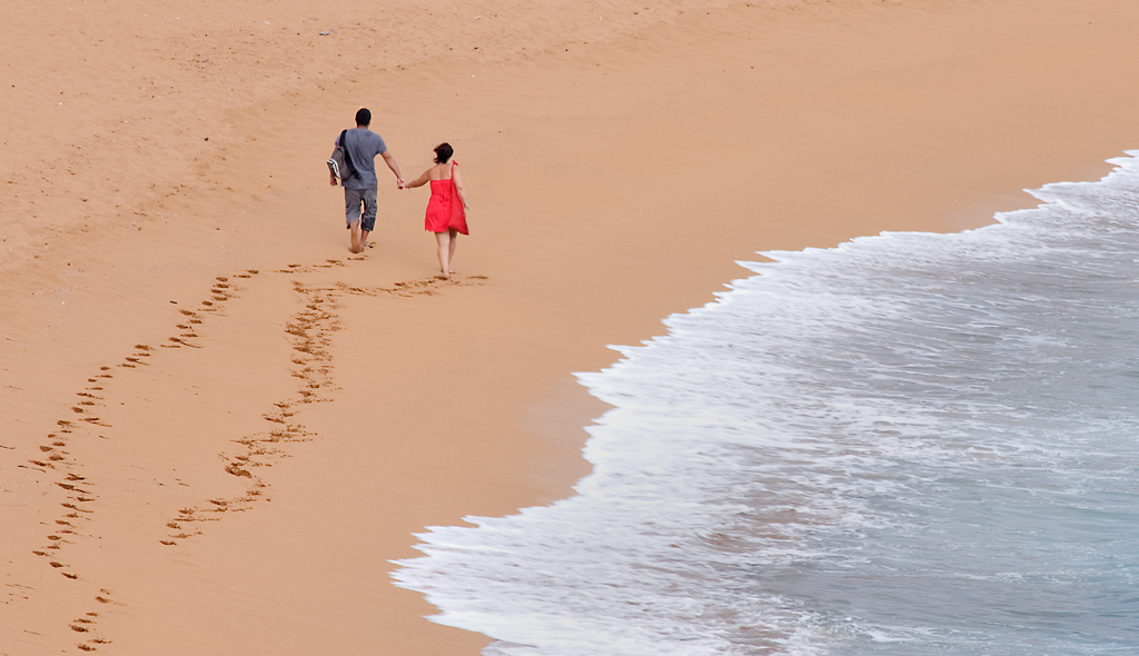 Lovers On The Shore