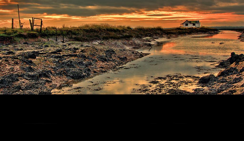 North Fambridge Essex at Dusk