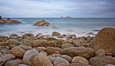 Porthnanven Beach Cornwall