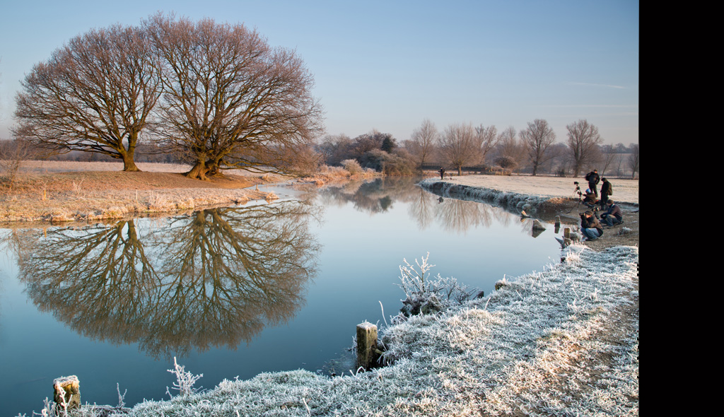River Stour at Dedham in Winter