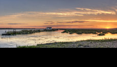 Sunset at North Fambridge
