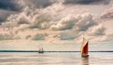 Thames Barges at Maldon