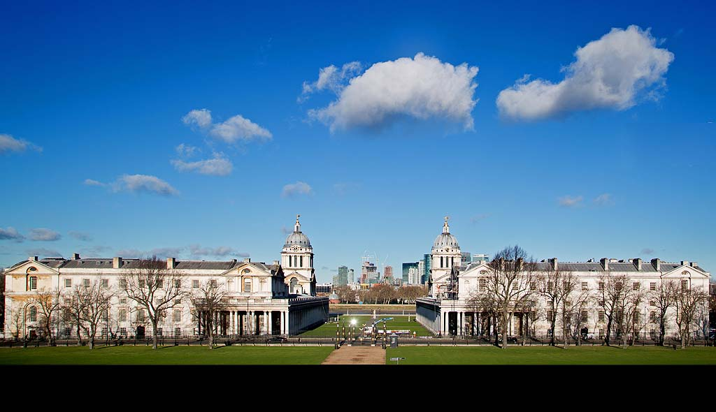 The Old Royal Naval College fromThe Queens House