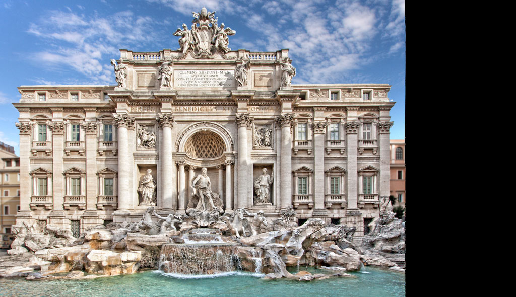 The Trevi Fountain Rome