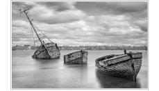 Three Wrecks