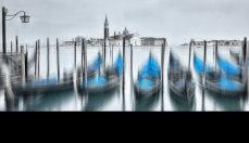 Venice Gondolas Blurred