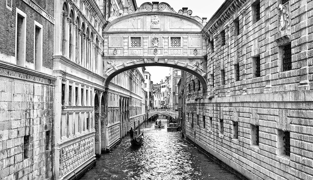 Venice The Bridge Of Sighs