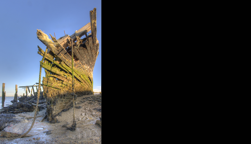 Wreck of the Hans Egede Low Tide
