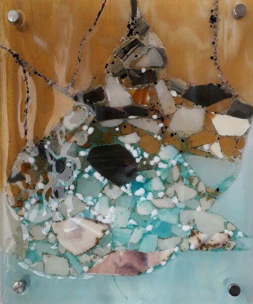 Shoreline 3 wall piece