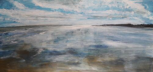 Reflections 30 x 60cm SOLD