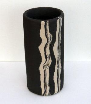 Laminated Stoneware Vessel