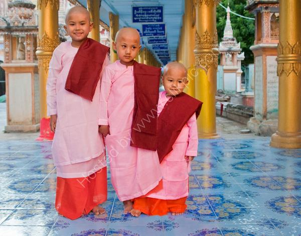 Three Young Nuns