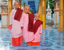 Three Young Nuns