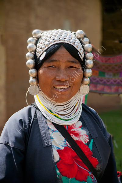 A Kha Woman in Traditional Dress
