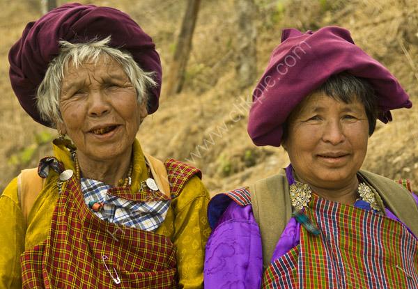 Two Bhutanese Ladies