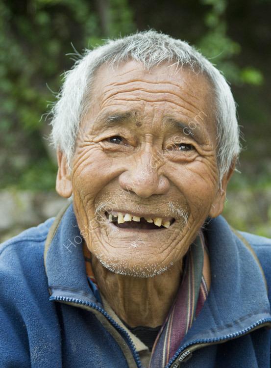 Old Man Bhutan