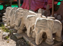 Elephant Stone Carvings