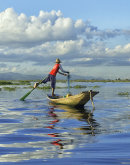 Fisherman Inles Lake Burma