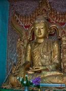 Golden Buddah Shwe Ba Hill