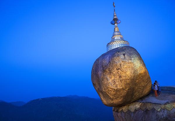 Golden Rock Kyaiktiyo Burma