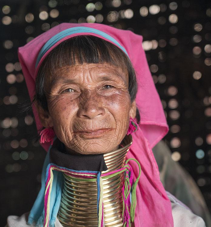 Padaung Woman Kaya Burma