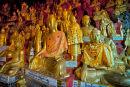 Buddah's Shwe Oo Min caves