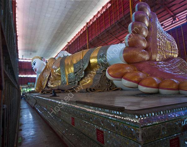 Reclining Buddah, Kyauktatgyi Pagoda