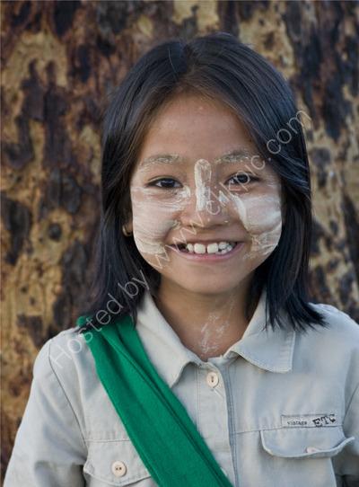 School Girl, Bagan
